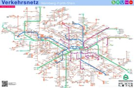 LinienNetzPlan Nürnberg - Fürth