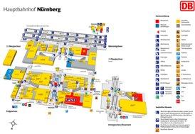 Nürnberg Hauptbahnhof plan