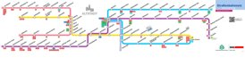 Nürnberg Straßenbahn plan