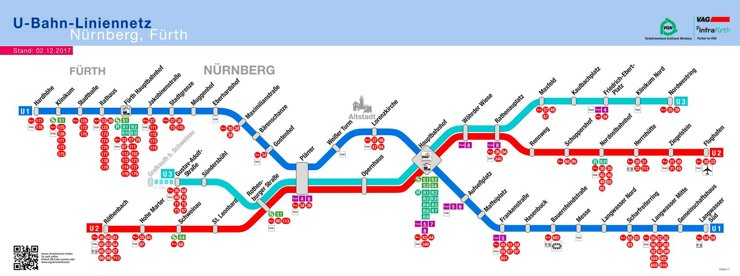 Nürnberg U-Bahn plan