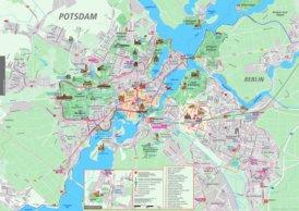 Stadtplan Potsdam mit sehenswürdigkeiten