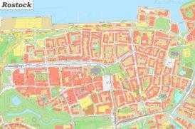 Karte von Altstadt-Rostock