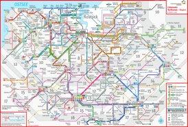 LinienNetzPlan Rostock Region