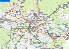 LinienNetzPlan Saarbrücken