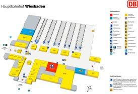 Wiesbaden Hauptbahnhof plan