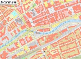 Stadtplan Barmen - Wuppertal