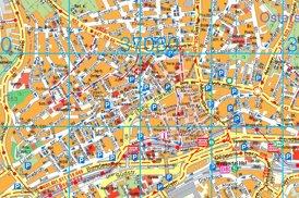 Touristischer stadtplan von Wuppertal