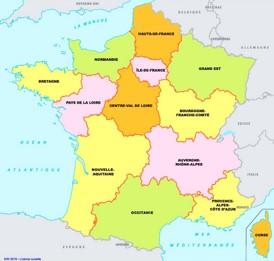 Frankreich Departements Karte.Frankreich Karte Landkarten Von Frankreich