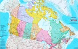 Kanada politische karte