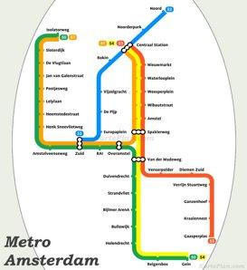 Amsterdam Metro Plan