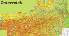 Austria Maps | Map of Austria