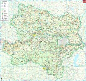 Niederösterreich touristische karte