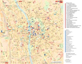Stadtplan Graz mit sehenswürdigkeiten und hotels