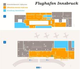 Flughafen Innsbruck Plan