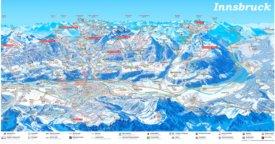 Innsbruck skikarte