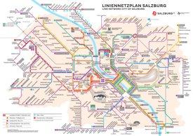LinienNetzPlan Salzburg