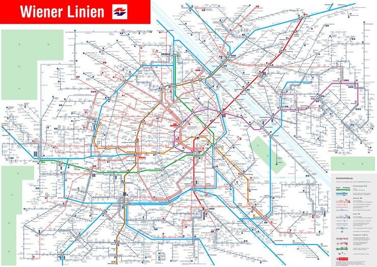 LinienNetzPlan Wien