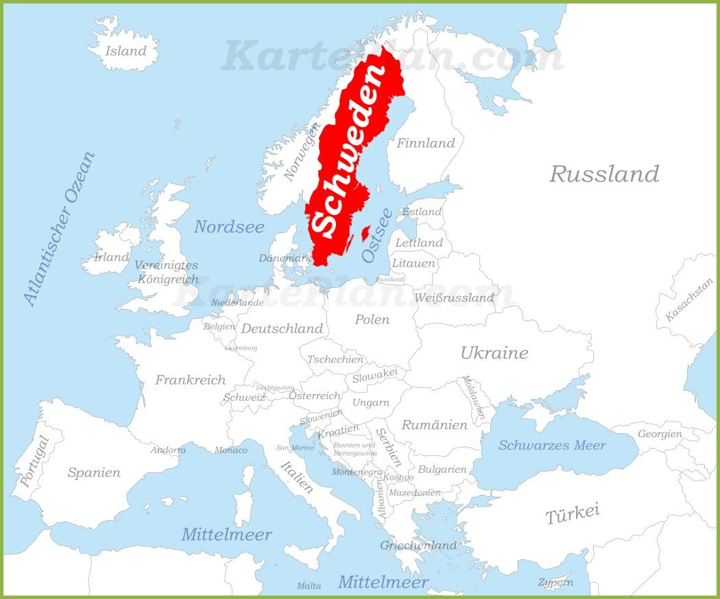 Lage Schweden