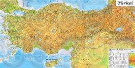 Große detaillierte karte von Türkei