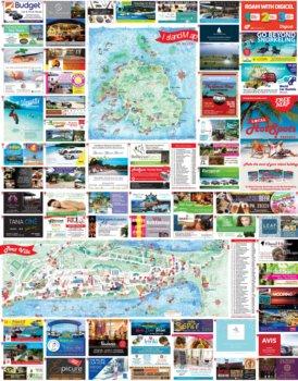 Vanuatu touristische karte