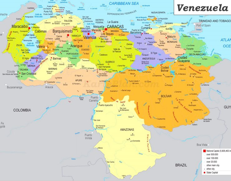 Venezuela Politische Lage