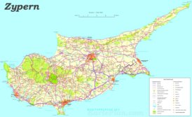 Zypern sehenswürdigkeiten karte